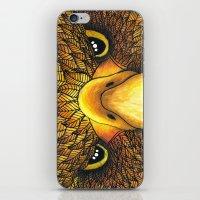 phoenix iPhone & iPod Skins featuring Phoenix by J Bradford Illustration