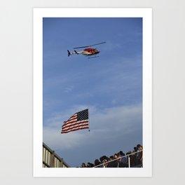 national anthem Art Print