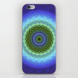 Glowing Mandala iPhone Skin