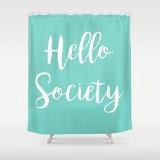 HS pillow  Shower Curtain