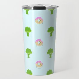 Guilty pleasure shame pattern Travel Mug