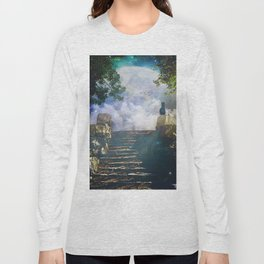 Moon Stairs Long Sleeve T-shirt