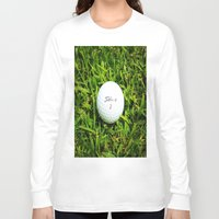 golf Long Sleeve T-shirts featuring GOLF by Cooper Designs