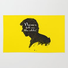 The Odds – Han Solo Silhouette Quote Rug