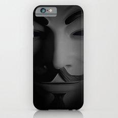 Men in a Mask iPhone 6s Slim Case