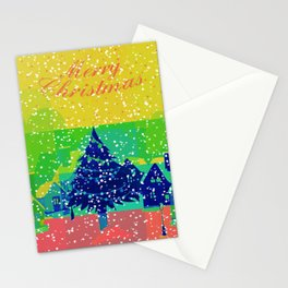 Christmas Greetings Stationery Cards
