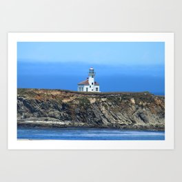 Cape Arago Light Art Print