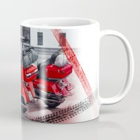 moto Mugs featuring Moto is life by LaDa