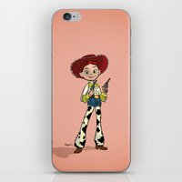 toy story iPhone & iPod Skins featuring Toy Story | Jessie by Brave Tiger Designs