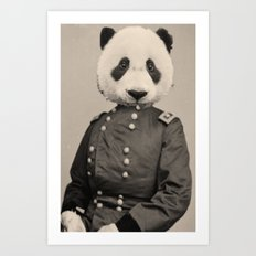 Panda Supremacist Art Print