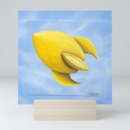Super Sonic Mini Art Print
