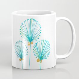 Golden Coconut Tree Coffee Mug
