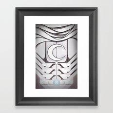 Moonlight Knight Framed Art Print