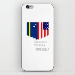 50% Curacaoan 50% American 100% Awesome iPhone Skin