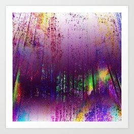 A Purple Haze Art Print