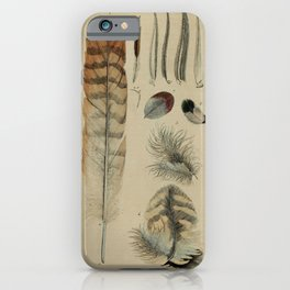 Naturalist Feathers iPhone Case