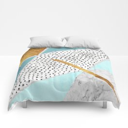 Geometric forms Comforters