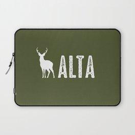 Deer: Alta, Utah Laptop Sleeve