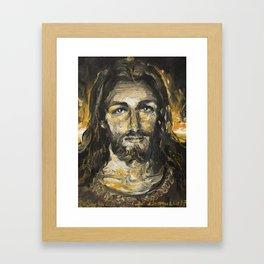 I am the light of the world. (Faustina's Vision) Framed Art Print