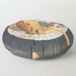 On the Moon Floor Pillow