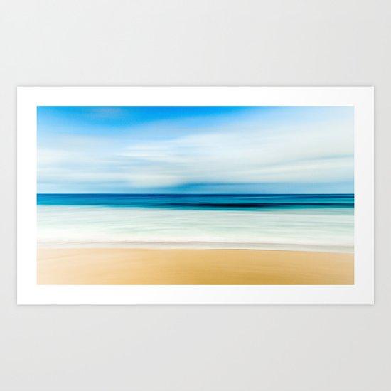 Pastel Ocean mood Art Print