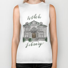 Welch Library Biker Tank