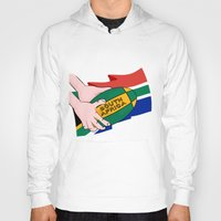 south africa Hoodies featuring South Africa Rugby by mailboxdisco