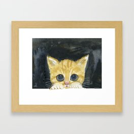 I am here Framed Art Print