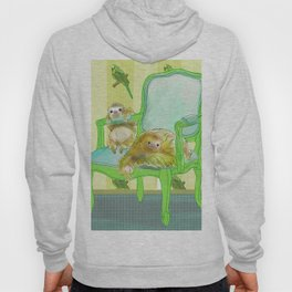 animals in chairs #6 The Sloth Hoody