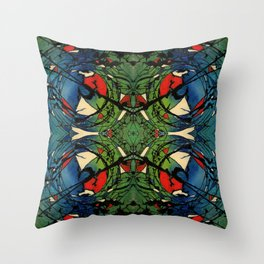 Non-Locality Phenomenon Throw Pillow