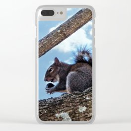 Enjoying a Nut Clear iPhone Case