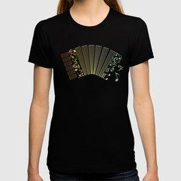 Air Accordion Musician Gift Idea T-shirt