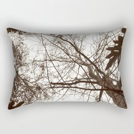 Memories of Endor 1 (B&W) Rectangular Pillow