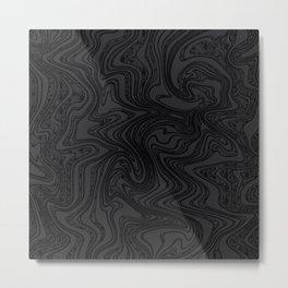 Strange times (dark) Metal Print