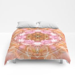 Flower of Life Mandalas 18 Comforters