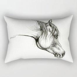 Arabian horse head Rectangular Pillow