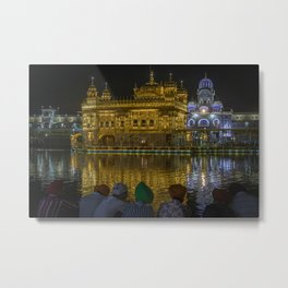 Amritsar Golden Temple Metal Print