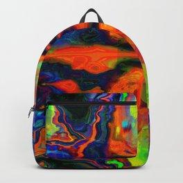 Lava flow ... Backpack