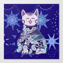 Your Touchy Cat Canvas Print