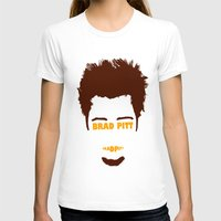 brad pitt T-shirts featuring Brad Pitt Minimalist by Maxvtis