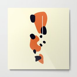 Kin Showa Koi Metal Print