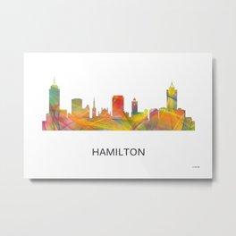 Hamilton Ontario Canada Skyline WB1 Metal Print