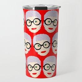IRIS APFEL! Travel Mug