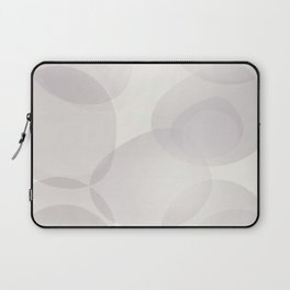 """Soft abstract shapes, """"Valeria"""" Laptop Sleeve"""