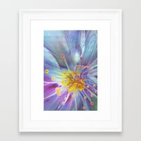 blossom Framed Art Prints featuring Blossom by Klara Acel