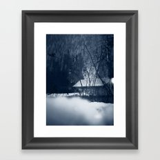 The Boat Shed Framed Art Print