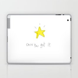 kid wanna say something... Laptop & iPad Skin
