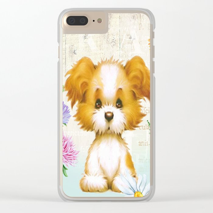 Sweet animal #3 Clear iPhone Case