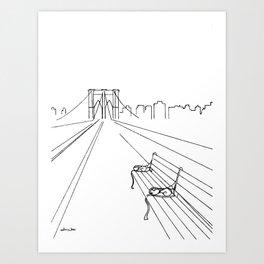 Take Our Time Art Print