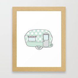 Caravan Version Three Framed Art Print